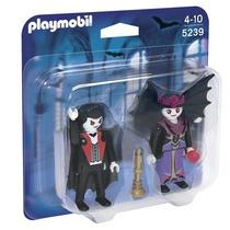 Playmobil 5239 Blister Pareja D Vampiros Medieval Retromex