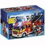 Playmobil 5363 Camion De Bomberos De Apoyo Y Luz Led Ciudad