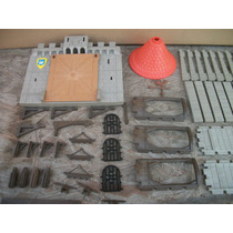 Tm.playmobil. Lote De Pzs. Castillo Medieval Ref.3666