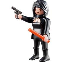 Playmobil 5244 Figura Serie 3 Mujer Espia #9 Retromex