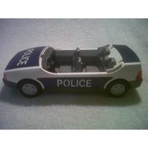 Playmobil Patrulla De Policia Azul Estado Excelente