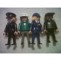 Playmobil Policias Variados Excelente Estado