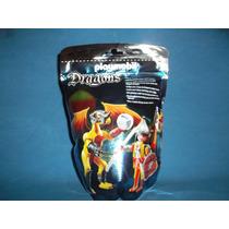 Playmobil 5462 Dragons Roca Con Samurai Y Accesorios