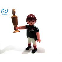 Playmobil Custom Jugador Equipo Futbol Mexico Retromex