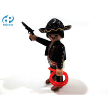 Playmobil Custom Mariachi Charro Oeste Retromex