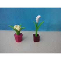 Playmobil Vegetacion Macetas Js¡¡