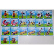Playmobil Juego De Mesa Memorama Figuras Navidad Retromex