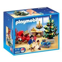 Playmobil 4892 Habitacion Navideña Navidad Ciudad Retromex