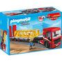 Playmobil 5467 Camion D Mercancia Construccion Retromex