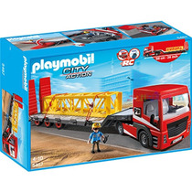 Playmobil 5467 Camion D Mercancia Construccion Retromex