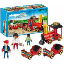 Playmobil 5549 Tren D Niños Juego Feria Ciudad Retromex