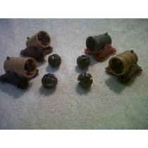 Playmobil Bombardas Con Un Proyectil Cada Una