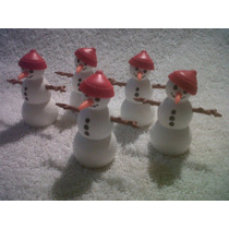 Playmobil Muñecos De Nieve Nuevos ¡¡¡
