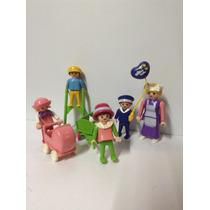 Playmobil Lote De Niños Victorianos Con Nana