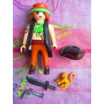 Playmobil Set De Pirata Mascota Y Accesorios
