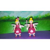 Playmobil Super 4 Hada Lorella Con Vestido Rosa Js