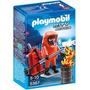 Playmobil 5367 Bombero Manejo De Residuos Peligrosos Fuego J