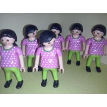Playmobil Mujeres Embarazadas Ciudad Zoo Vacaciones Js