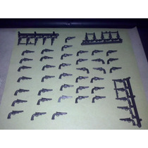 Playmobil Pistola Revolver Colt Oeste Vaqueros Vintage Js