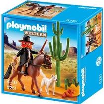 Playmobil 5251 Sheriff Con Caballo Oeste Vaqueros Retromex