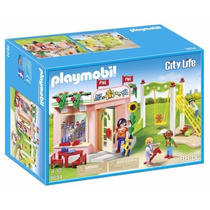 Playmobil 5634 Jardin D Niños Guarderia Ciudad Retromex
