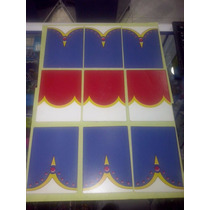Playmobil Tarjetas Refaccion Para Circo Corona Vintage Js