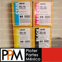 Encad Novajet Kodak Tintas Gs+ Para Ploter, Consta De 4 Kits