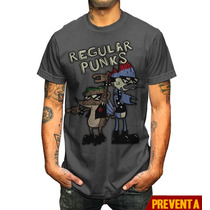 Playera King Moster Regular Punks