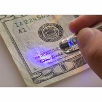 Pluma Boligrafo 5 En 1 Apuntador Laser Led Luz Ultravioleta