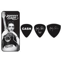 Plumillas Johnny Cash Memphis Con Estuche Dunlop Jc-pt01m