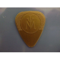 Plumilla Dorada De Guitarra Original De Madonna Rara