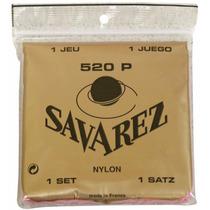 Savarez 520p Cuerdas Guitarra 3a Sol Nylon Blanco Dhl Gratis