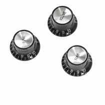 Perilla De Volumen Bajo/guitarra, 3 Knobs