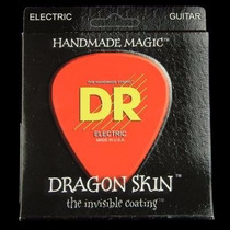 Dr Dragon Skin Cuerdas 11-50 Heavy Power Guitarra Eléctrica