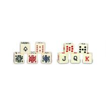 Dados De Poker Para Cubilete!!!!!! Juego De 5 Piezas