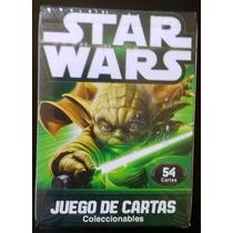Juego De Cartas, Poker Star Wars Mazo Coleccionable Nuevo