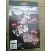 Baraja Oficial The Walking Dead Caja Metálica Importada.