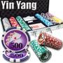 Poker Estuche 300 Fichas Casino 13.5 Grams Mod Ying Yang