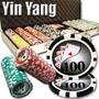 Poker Estuche 500 Fichas Casino 13.5 Grams Mod Ying Yang