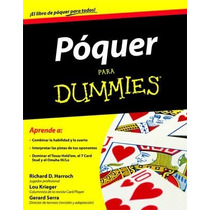 Poquer Para Dummies - Libro De Estrategias Para Ganar