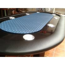 Mesa De Poker Con Paño Profesional Para 8 Jugadores
