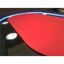 Mesa De Poker Profesional Con Luz Led Para 8 Personas