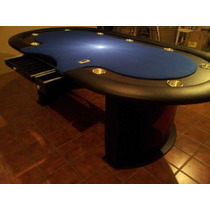Mesa De Poker !! Bellagio !! Con Base Central Personalizada
