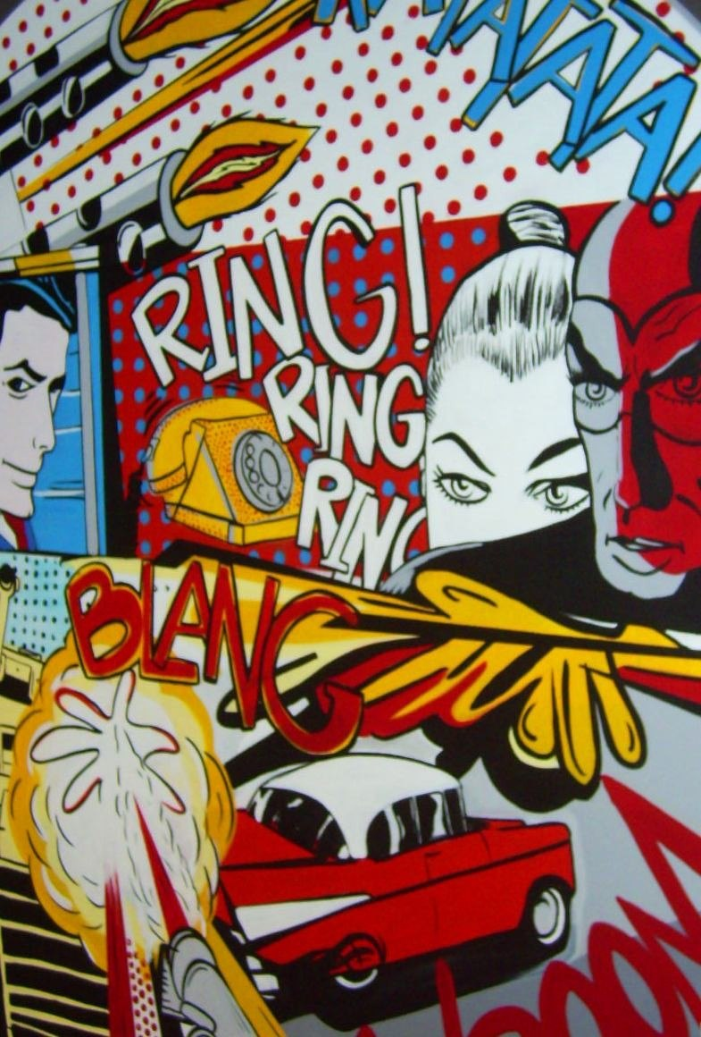 Pop art cuadros decorativos en mercadolibre - Cuadros pop art comic ...