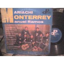Disco Lp De Acetato Mariachi Monterrey