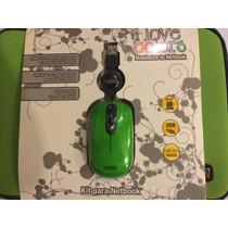 Funda Perfect Choice Mini Laptop Con Mouse Usb