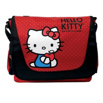 Remate Maletin Mensajero Kitty 15.6 Pulg Porta Laptop E4f