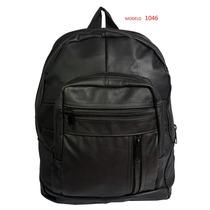 Mochila Escolar - Backpack Expandible Porta Laptop 100% Piel