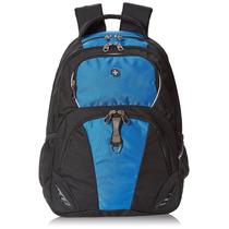 Swissgear Laptop Computer Backpack Sa6685 (black/blue) Fits