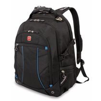 Swissgear Laptop Computer Backpack Sa3118 (black/blue) Fits